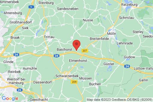 Karte Fuhlenhagen