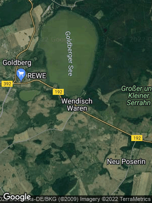 Google Map of Wendisch Waren