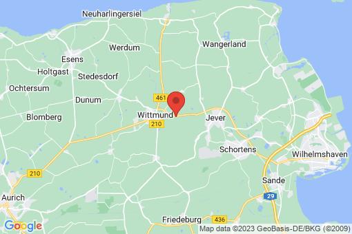 Karte Wittmund Asel
