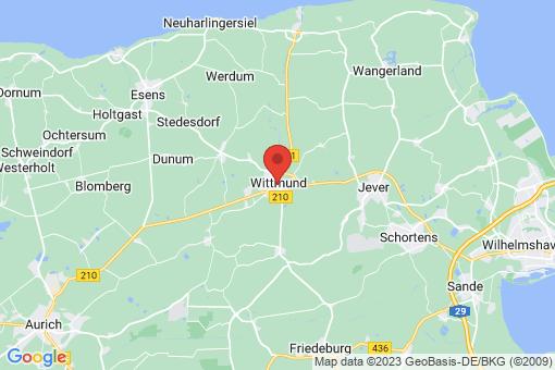Karte Wittmund