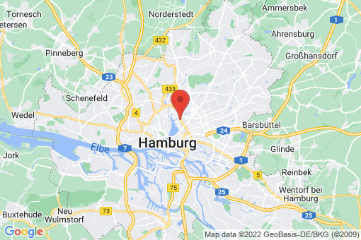 Karte Hamburg Barmbek-Süd   Uhlenhorst