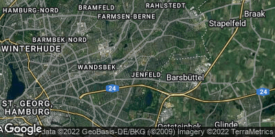Google Map of Jenfeld