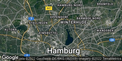 Google Map of Harvestehude