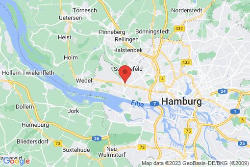 Karte Hamburg Iserbrook