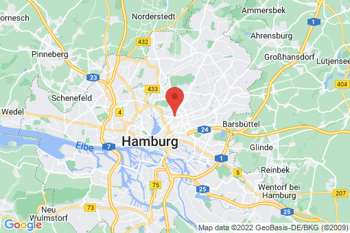 Karte Hamburg Barmbek-Süd