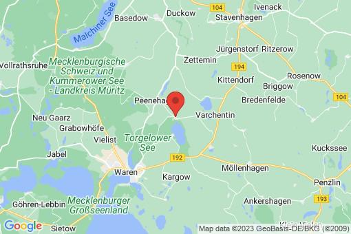 Karte Groß Gievitz