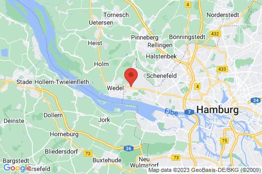 Karte Hamburg Rissen