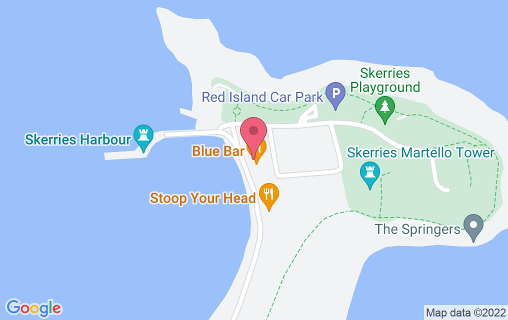 Get directions to Blue Bar