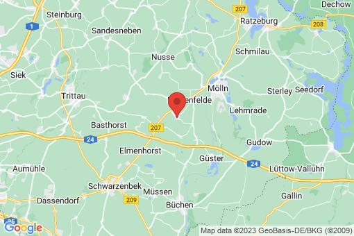 Karte Niendorf an der Stecknitz