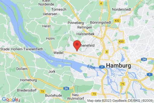 Karte Hamburg Sülldorf