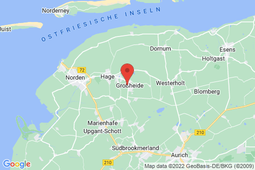 Karte Großheide