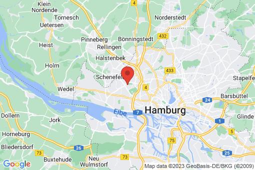 Karte Hamburg-Eimsbüttel