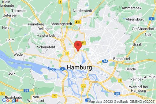 Karte Hamburg Eppendorf