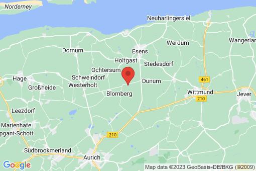 Karte Moorweg