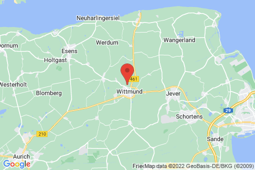 Karte Wittmund Uttel