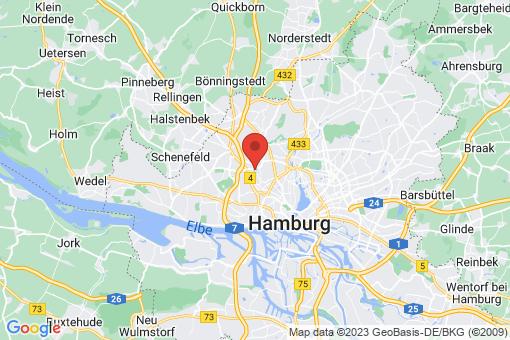 Karte Hamburg Stellingen