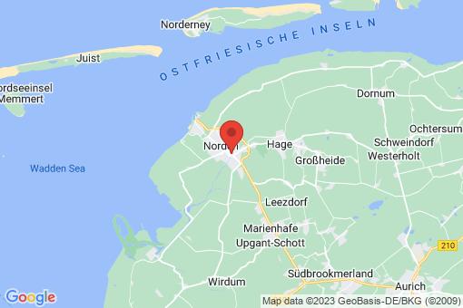 Karte Norden Norden
