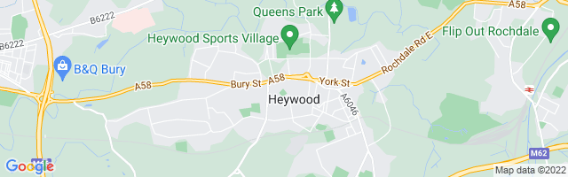 Map Of Heywood