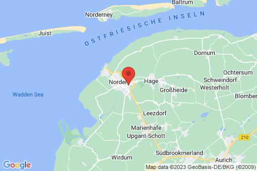 Karte Norden Bargebur