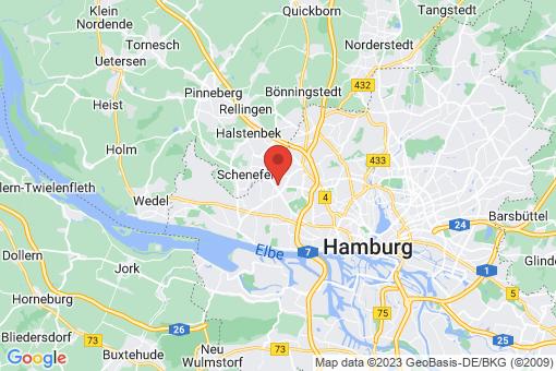 Karte Hamburg Lurup