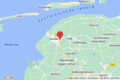 Karte Norden Tidofeld