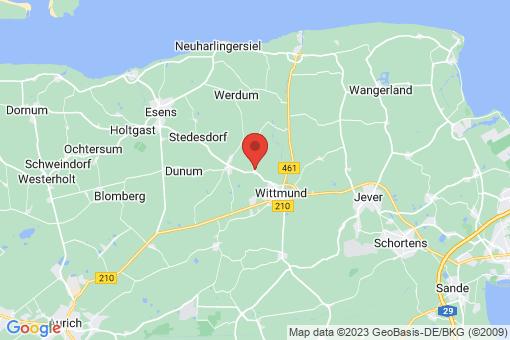 Karte Wittmund Blersum