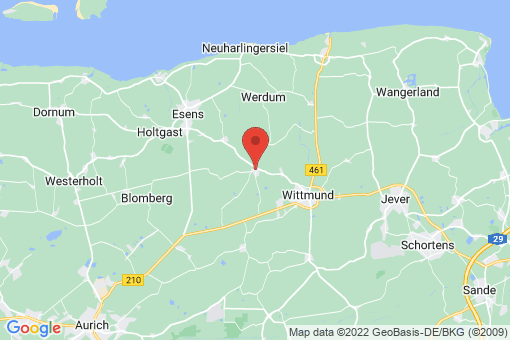 Karte Wittmund Burhafe