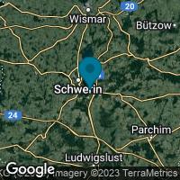 Lagekarte von Schwerin