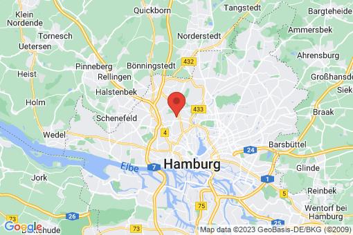 Karte Hamburg Lokstedt