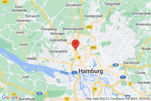 Karte Hamburg Eidelstedt
