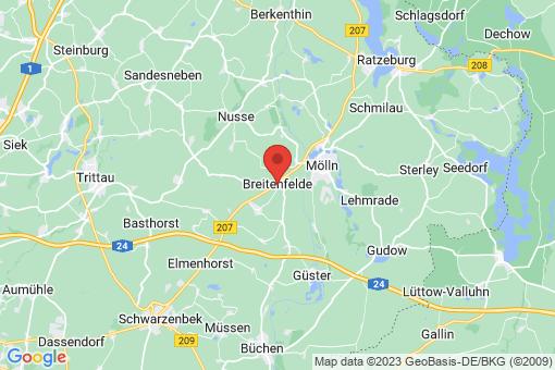 Karte Breitenfelde