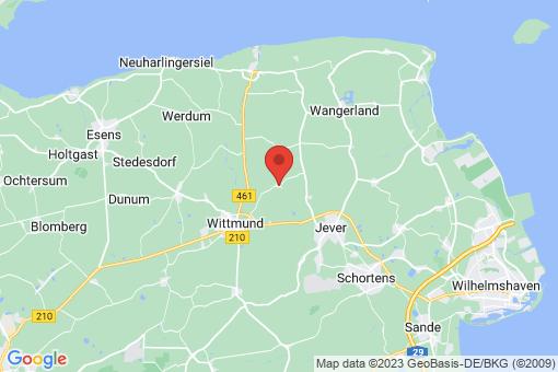 Karte Wittmund Eggelingen