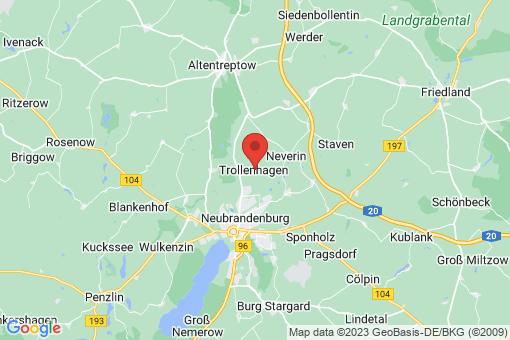 Karte Trollenhagen