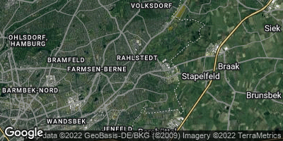 Google Map of Rahlstedt