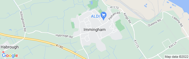 Map Of Immingham