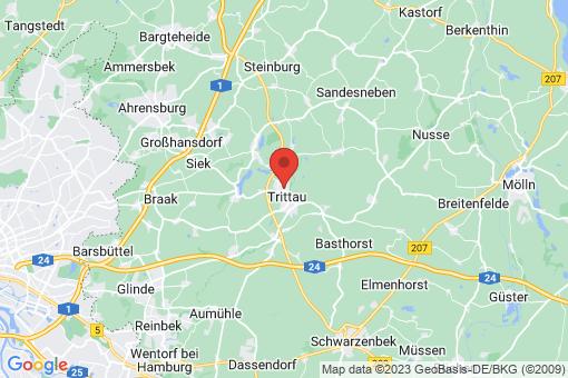 Karte Trittau