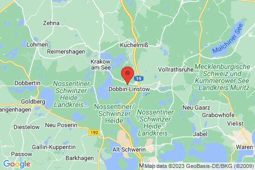 Karte Dobbin-Linstow