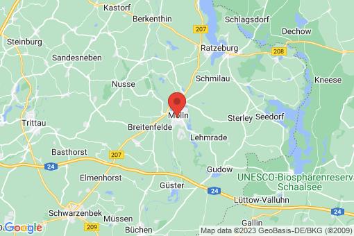 Karte Mölln