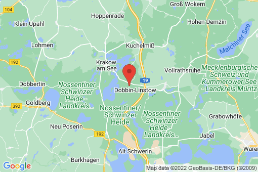 Karte Dobbin-Linstow Dobbin