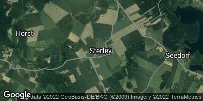 Google Map of Sterley