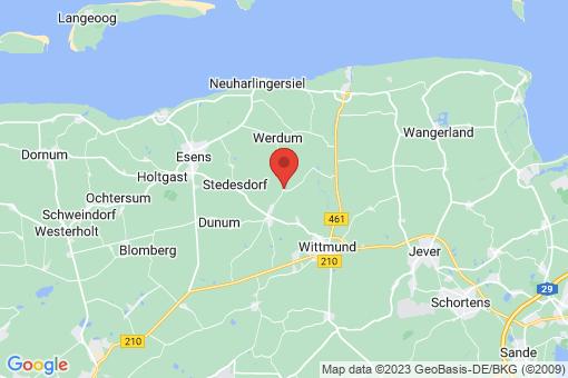 Karte Wittmund Buttforde