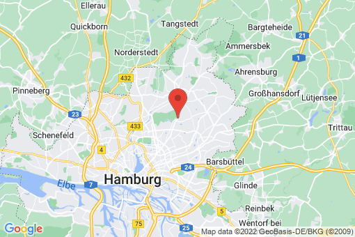 Karte Hamburg-Wandsbek Bramfeld