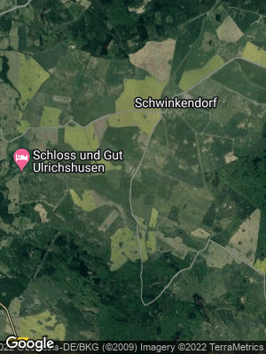 Google Map of Hinrichshagen bei Waren