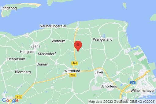 Karte Wittmund Berdum