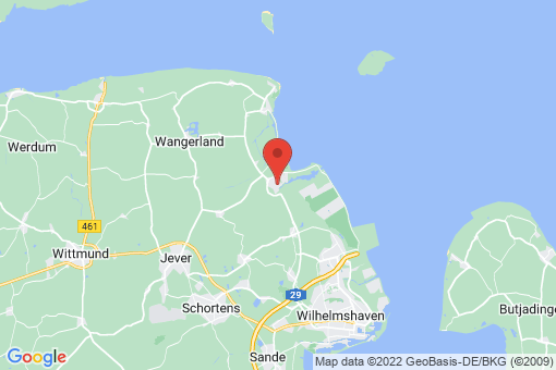 Karte Wangerland Hooksiel