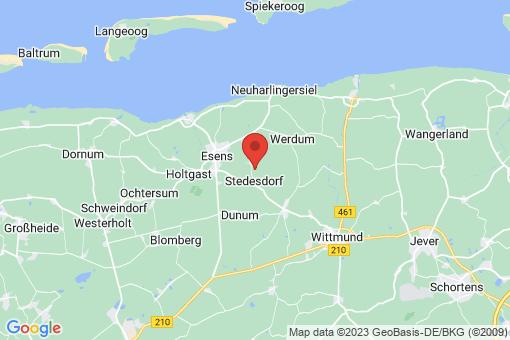 Karte Stedesdorf