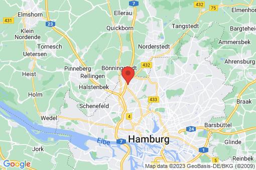 Karte Hamburg Schnelsen