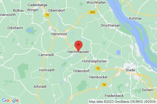 Karte Hechthausen
