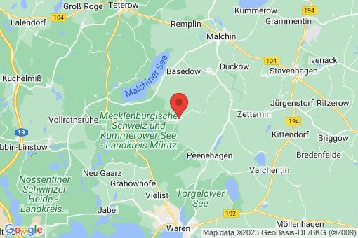 Karte Schwinkendorf