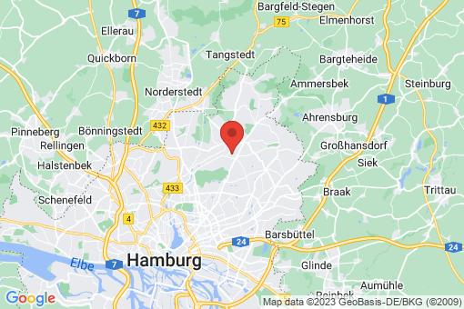 Karte Hamburg Wellingsbüttel